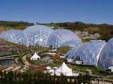 photo of the eden project