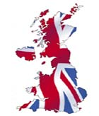 Image of UK map